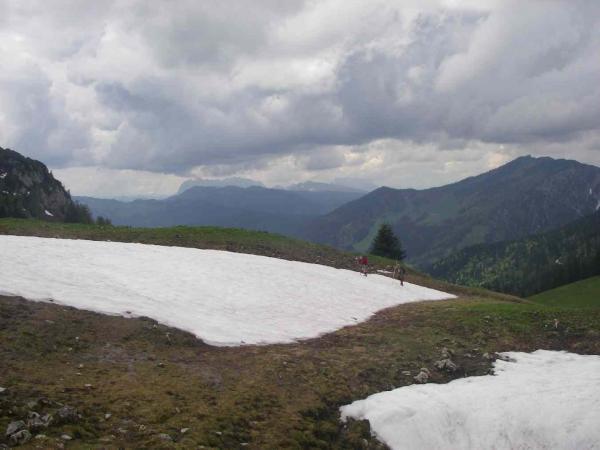 Weitere Schneefelder