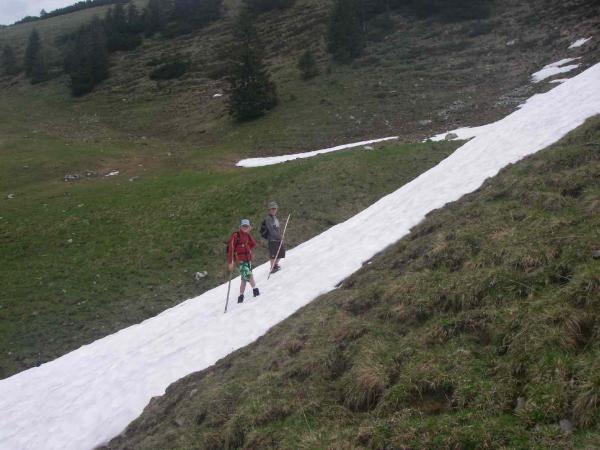 werden von Luca und Anton überquert