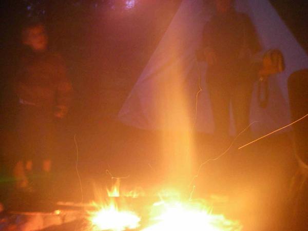 Stimmung am Feuer