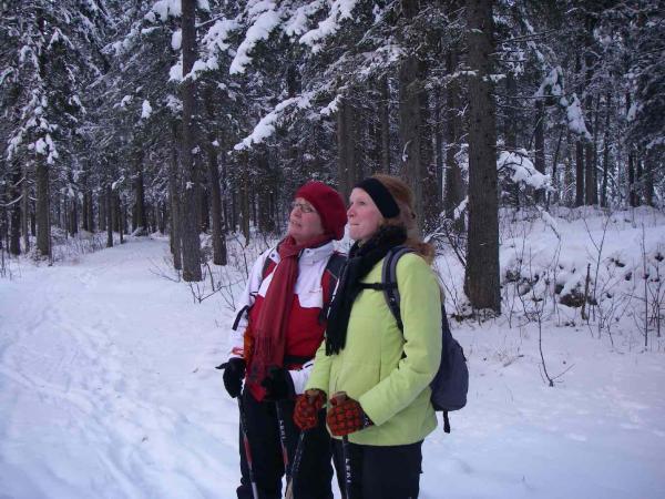 Petra und Sabine genießen