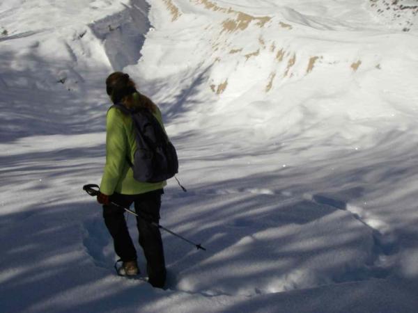 Schnee-Runen-Treten