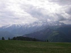 Ausblick zu den Loferer Steinbergen