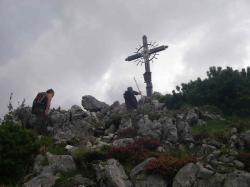 Am Gipfel des Peitingköpfls