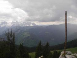 Wanderstab und Loferer Steinberge