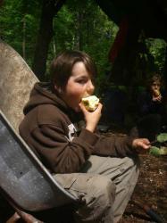 Zeit für einen Apfel
